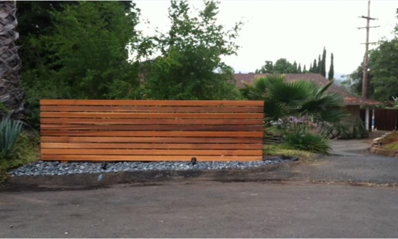 build a wood fence